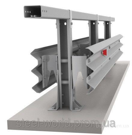 Ограждение дорожное односторонние металлическое оцинк. барьерного типа 11ДО барьерное ограждение В наличииОптом и в розницу 721 000 грн./км699 370 грн