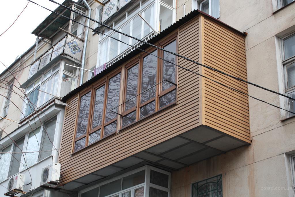 Расширение балкона, ремонт балкона в киеве, предложение.