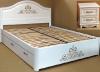 Роскошный спальный гарнитур Виктория из массива благородных пород дерева