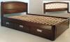 Двуспальная кровать Татьяна с ящиками