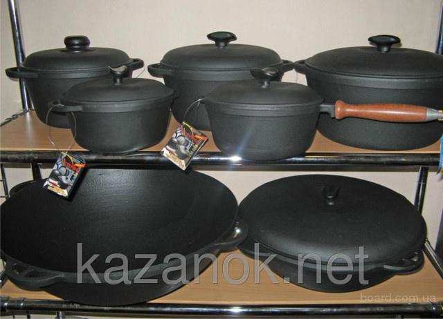 Чугунная посуда «Ситон» - интернет-магазин kazanok.net