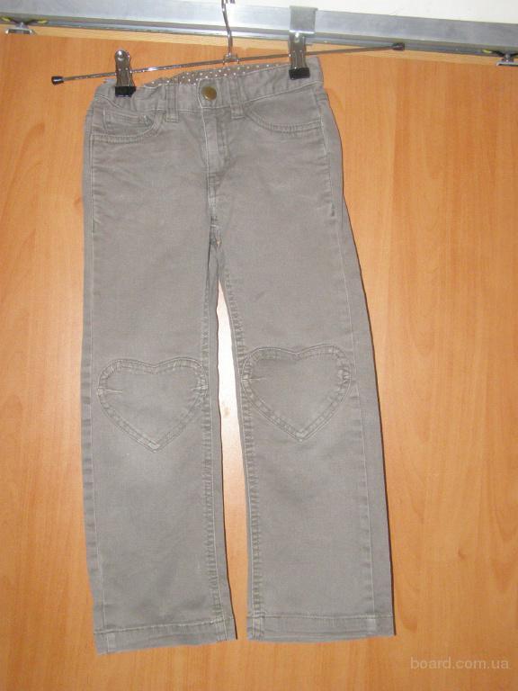 Фирменные джинсы H&M 116 рост для девочки