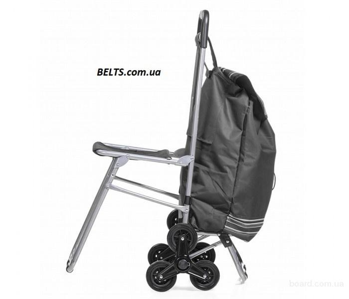 Киев.Сумка тележка со стулом (6 колес) The cart bag co chair (6 wheels)