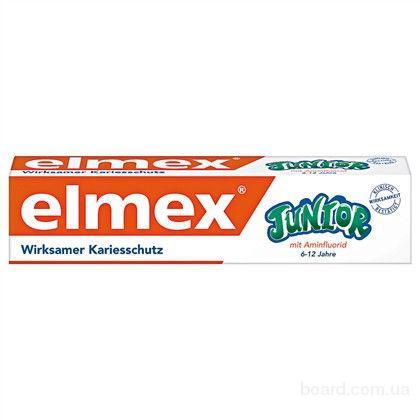 Elmex Junior зубная паста для детей. Германия