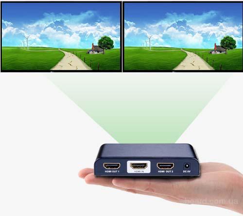 Сплиттер HDMI 1×2 4K-2K (LKV312PRO)