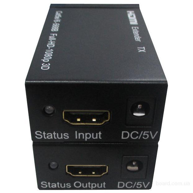 Удлинитель HDMI по Cat5/6 до 60м ST-S60