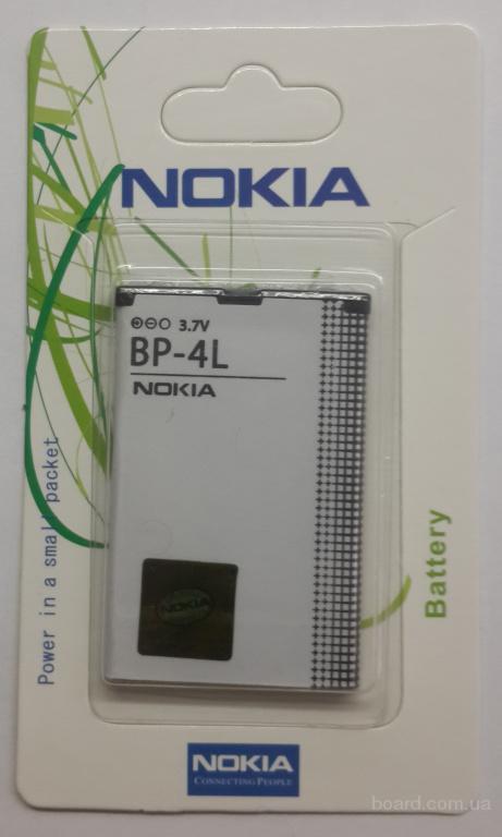 Аккумулятор Nokia BP-4L 6760/E52/E55/E61i/E63/E71/E72/E90/N97/N810