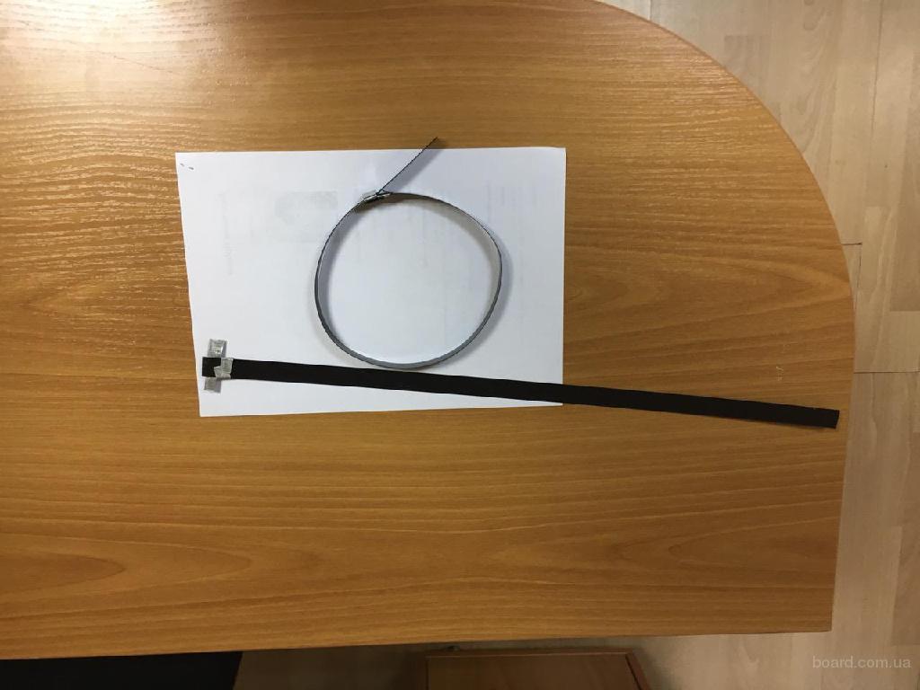 Стяжки ( хомуты ) для  скорлуп , применяемых при утеплении труб