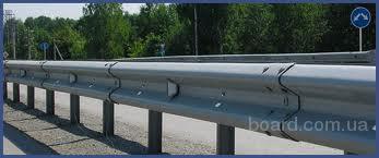дорожное ограждение металлическое барьерного типа