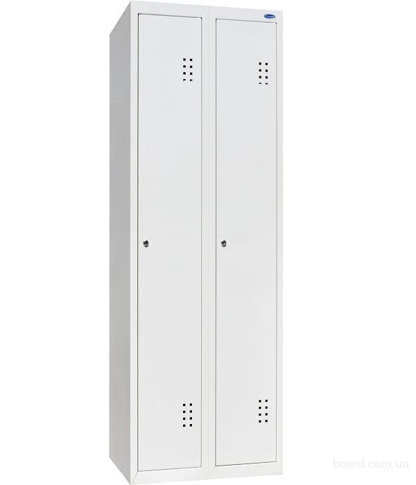 Шкаф одежный металлический