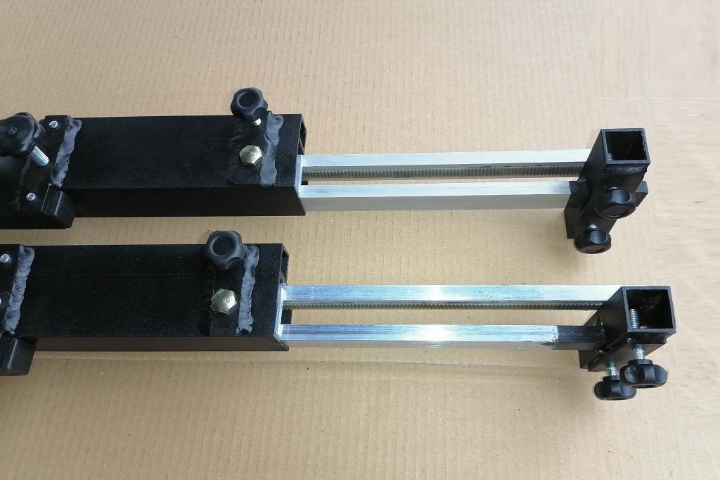 Лазерный стенд проверки сходимости колес «neoВектор-007» для тягачей, грузовиков, камионов, полуприцепов, прицепов (аналог Josam AW2D)