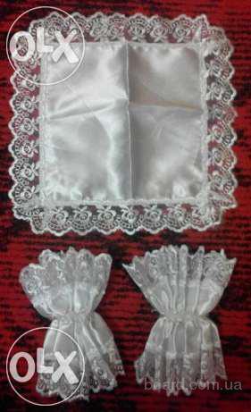 Продам шелковые платочки под свечи на свадьбу за 20 грн