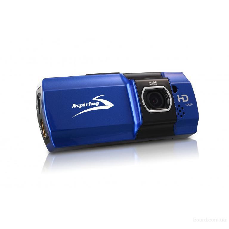 Автомобильный видеорегистратор FullHD, 1920×1080, до 32 ГБ