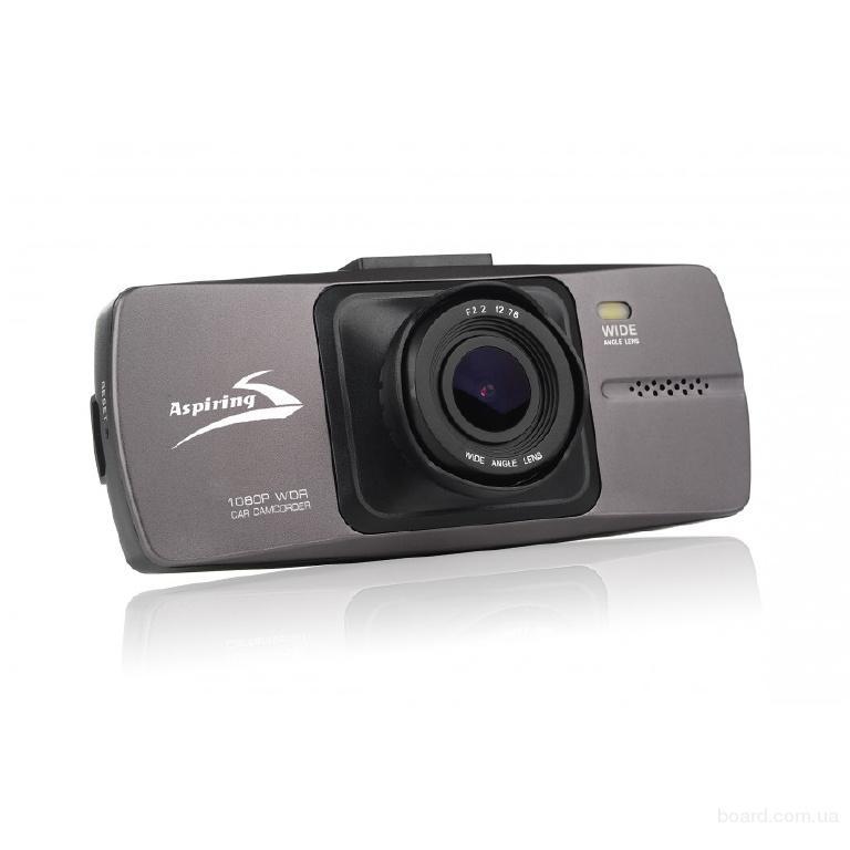 Видеорегистратор Full HD, Угол 120 гр., до 32 ГБ, 1920*1080p