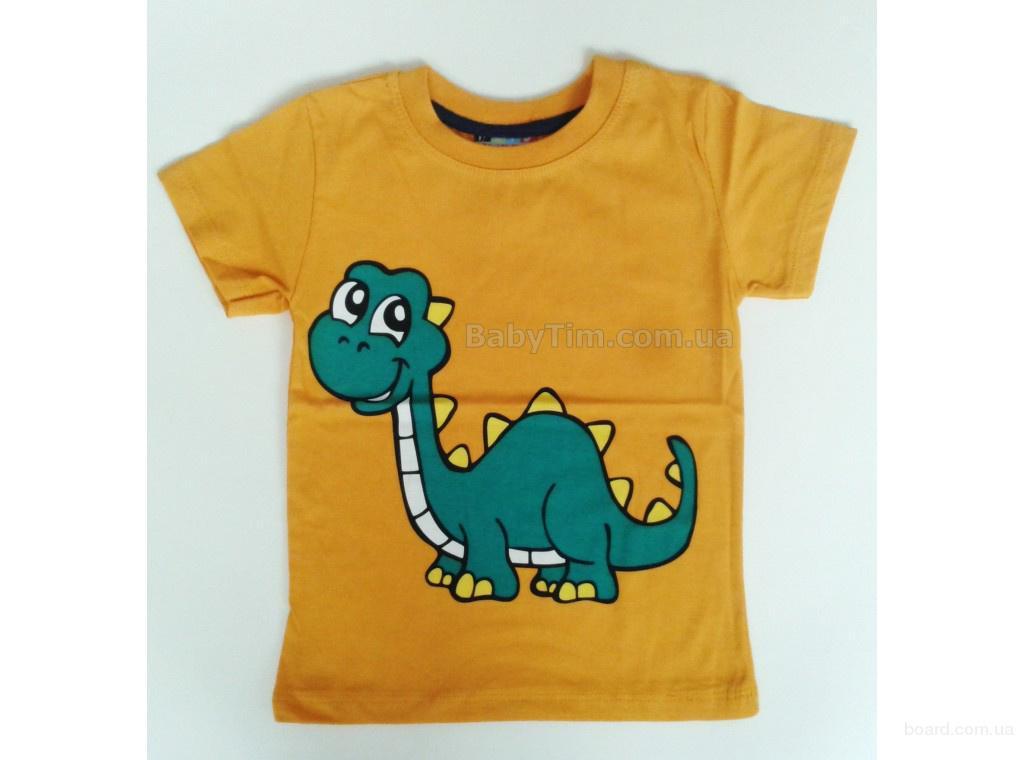 Детские футболки для мальчика Дино