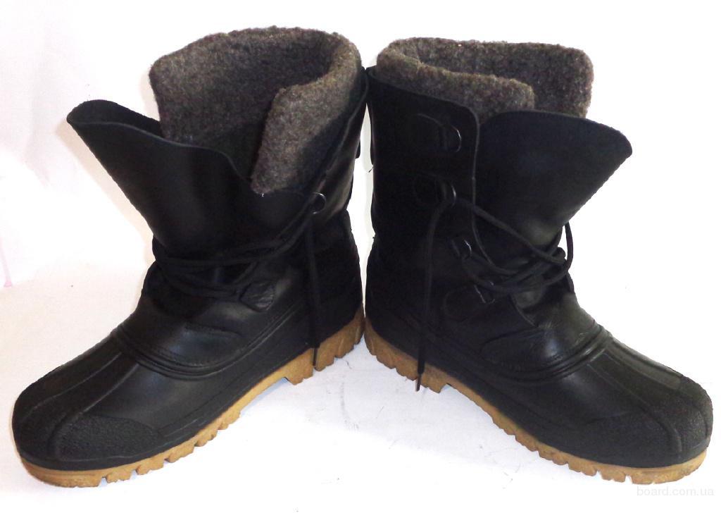 Ботинки, сапоги кожаные зимние Adventure (Б – 244) 44 - 45 размер