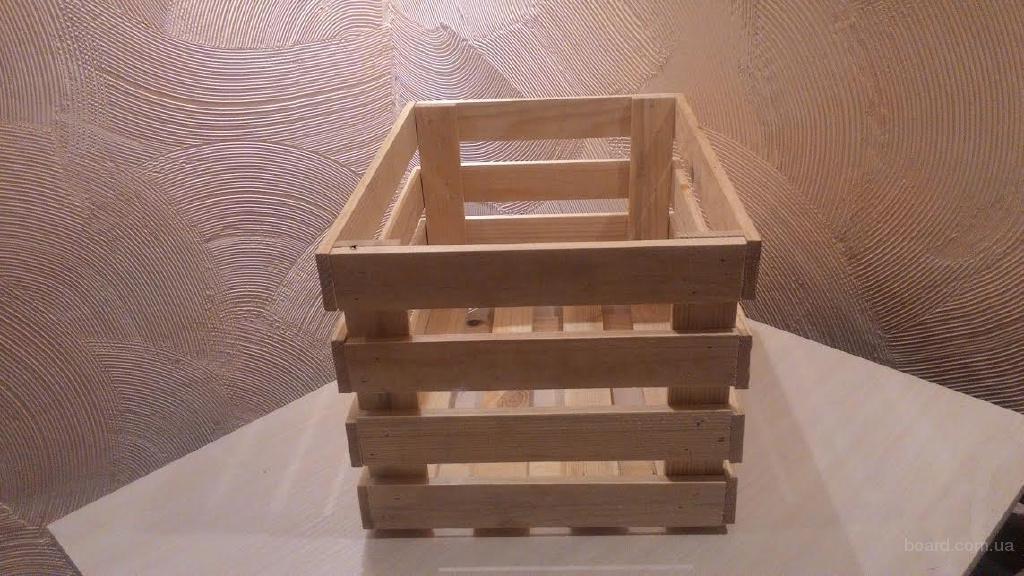 Деревянные ящики, ящик из дерева