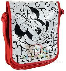 Сумка Раскраска Почтальон Minnie Mouse Color me mine Simba 6375387