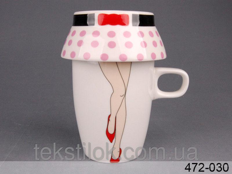Чашка ножки 300мл