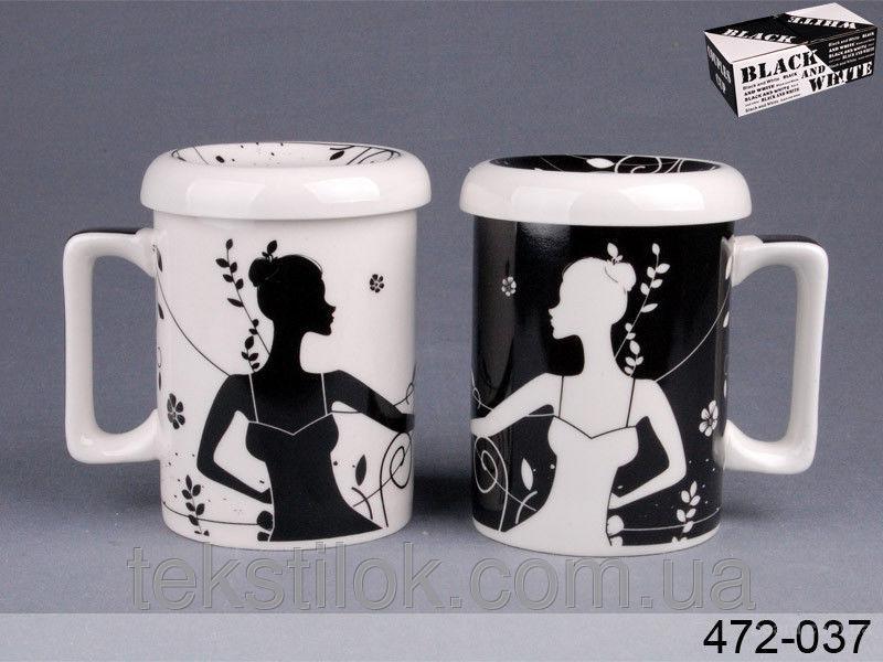 Чашки подружки 2шт. 300мл