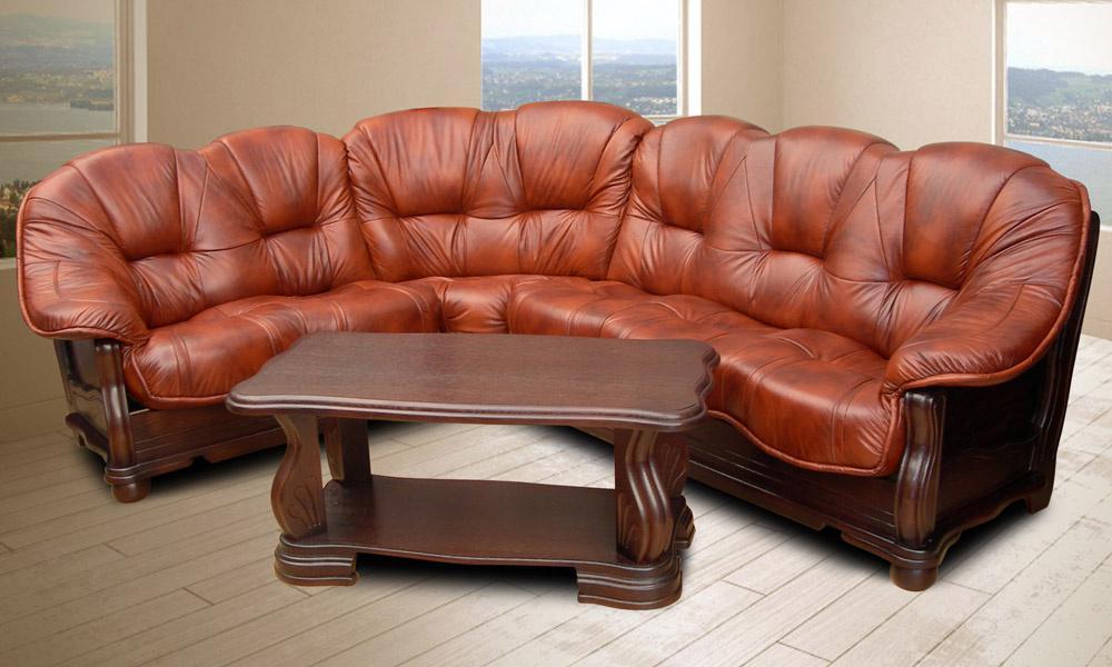 Элитная кожаная  мягкая мебель от европейских производителей.