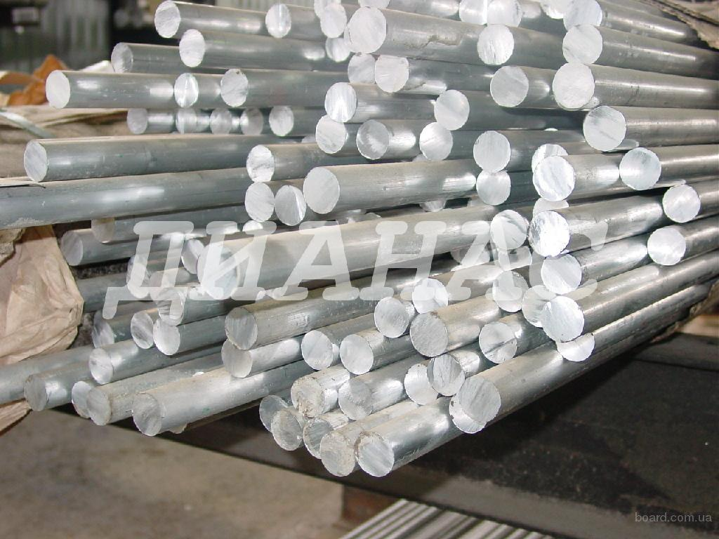 Алюминиевый пруток, круг алюминиевый АД31, Д16, 2024