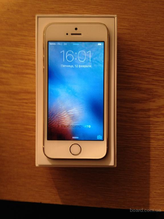 Продам Iphone 5s 16gb GOLD Neverlock