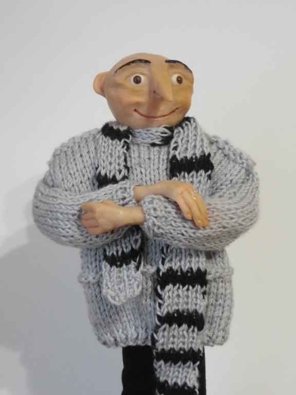 Кукла из полимерной глины