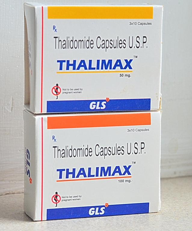 Талидомид ( Индия ) 100 мг,50 мг.30 шт.