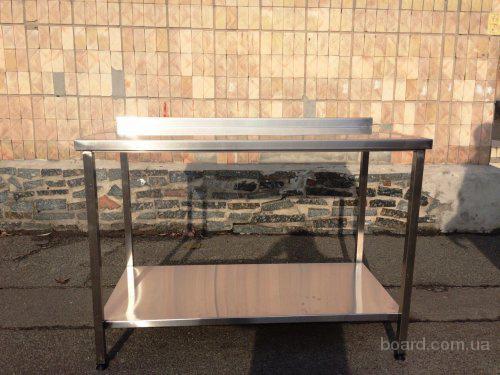 Разделочные столы из пищевой стали. Производственные.