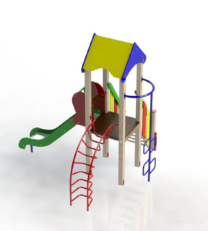 Детский игровой комплекс Фиксики