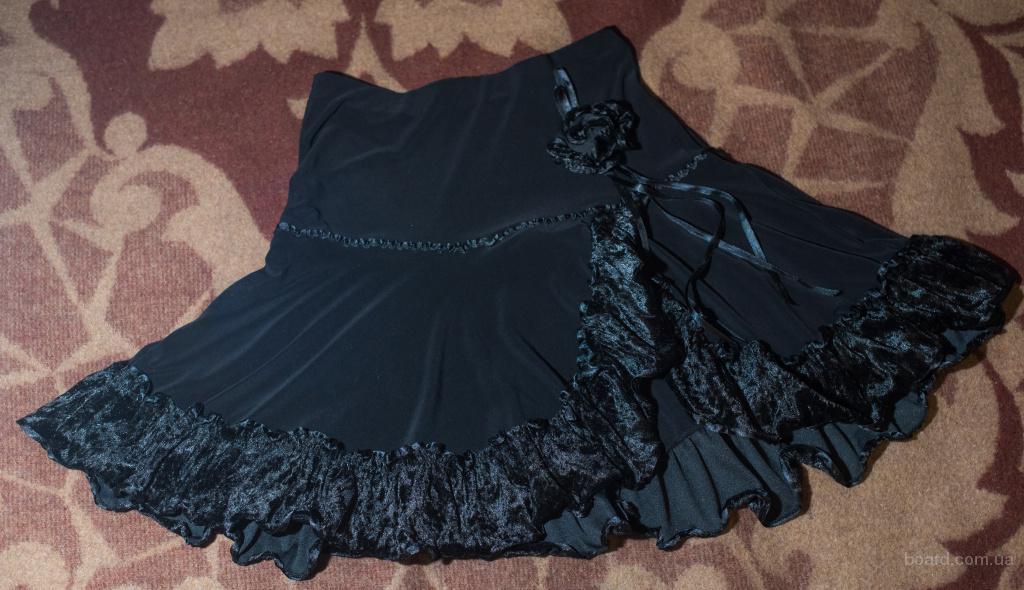Нарядная юбка подростковая, р.M (на наш 42-44), в идеальном состоянии