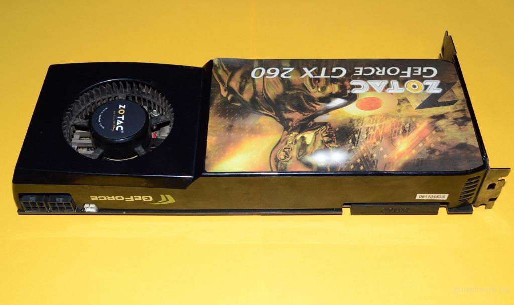Игровая Видеокарта Zotac GTX260 896MB DDR3 448BIT!(Б/У)