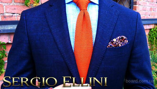 Скидки до -75% по купону!  Мужские костюмы, пальто, рубашки, аксессуары от производителя мужской одежды Sergio Ellini.