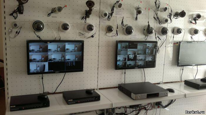 Установка систем видеонаблюдения и сигнализации, видеодомофонов.