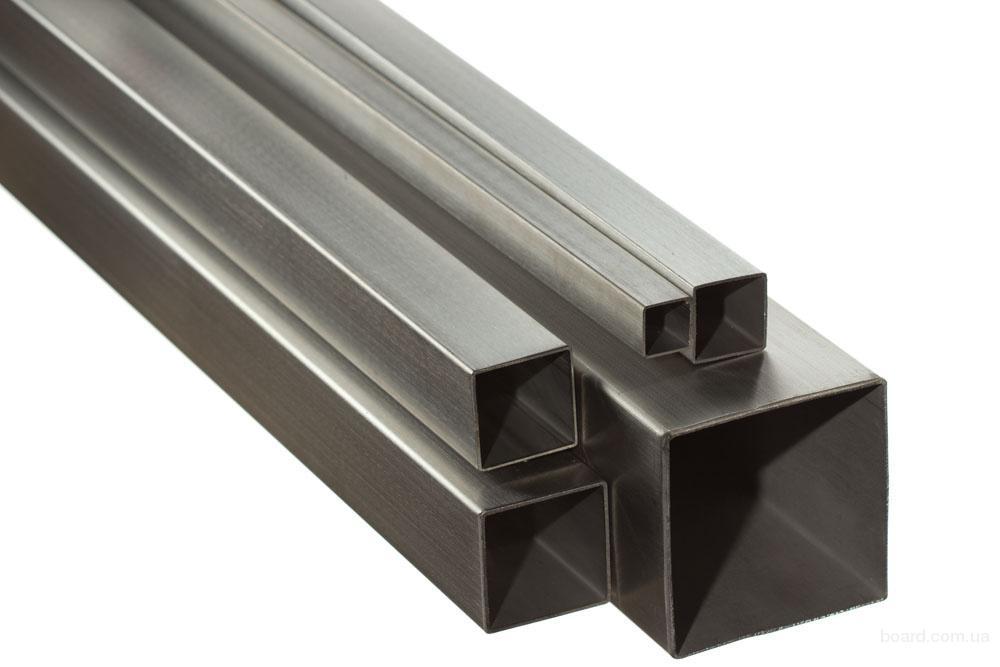 Труба алюминиевая прямоугольная 40*80*2 мм