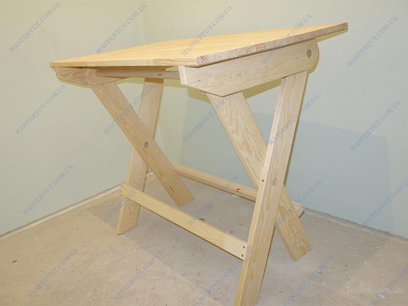 Продам недорогой деревянный раскладной стол
