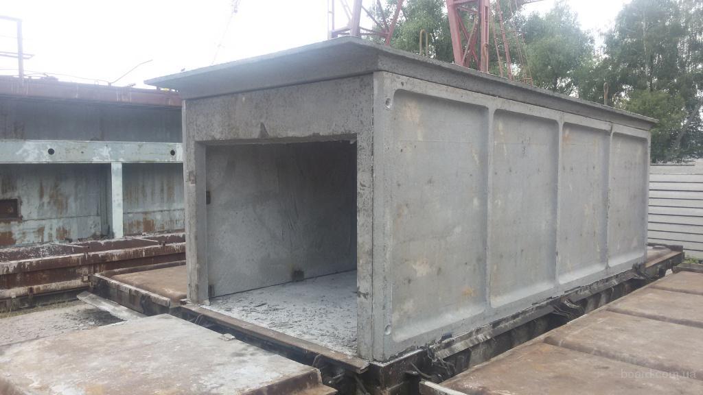 Гараж из монолитного бетона
