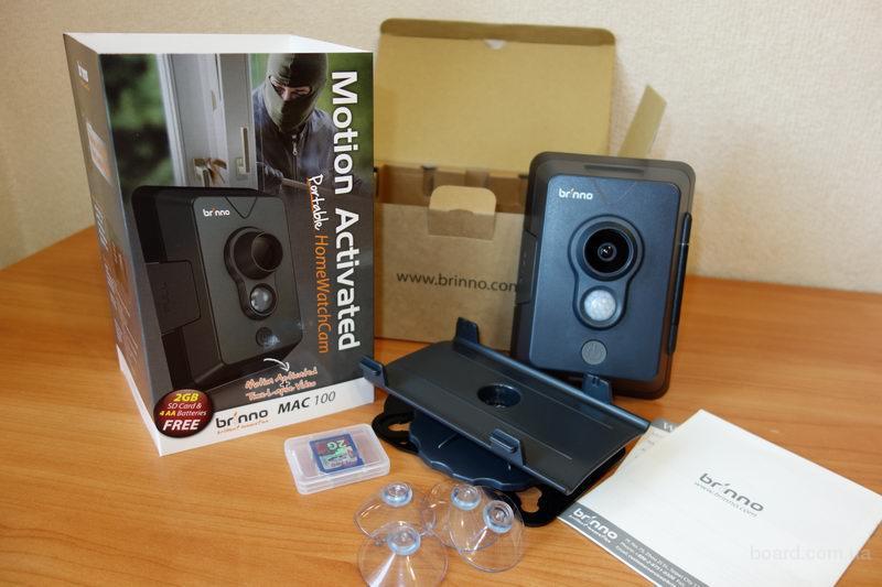 Портативная всепогодная камера сдатчиком движения для автоматической покадровой съемки движущихся объектов – MAC100