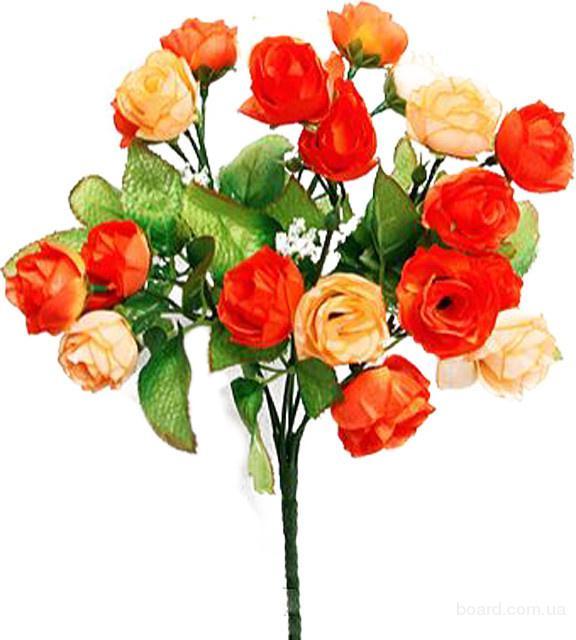 Ритуальные искусственные цветы.