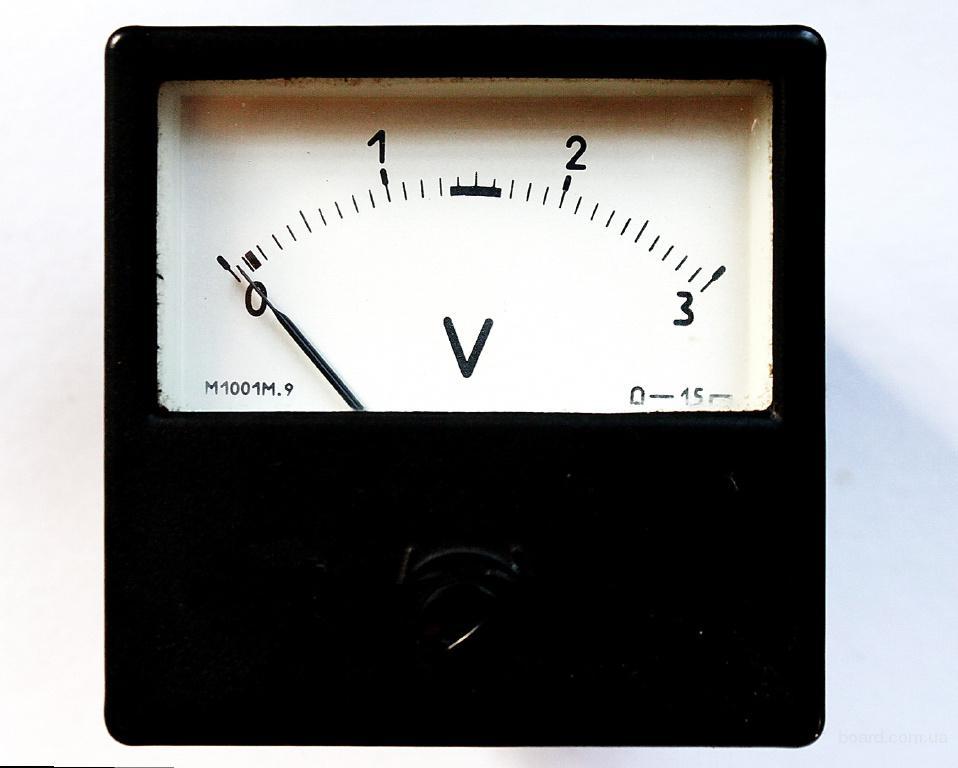 Вольтметр 0 - 30 В ! При помощи головки вольтметра 0 - 3 В !