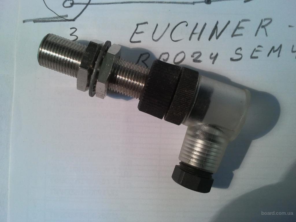 Датчик бесконтактный Euchner - EGS12XO2.  RPO24SSEM4