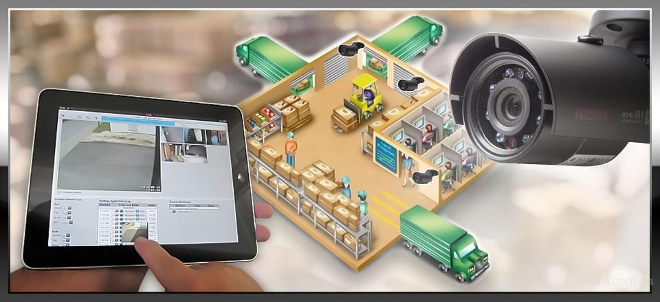 Монтаж и подключение охранной сигнализации и видеонаблюдения.