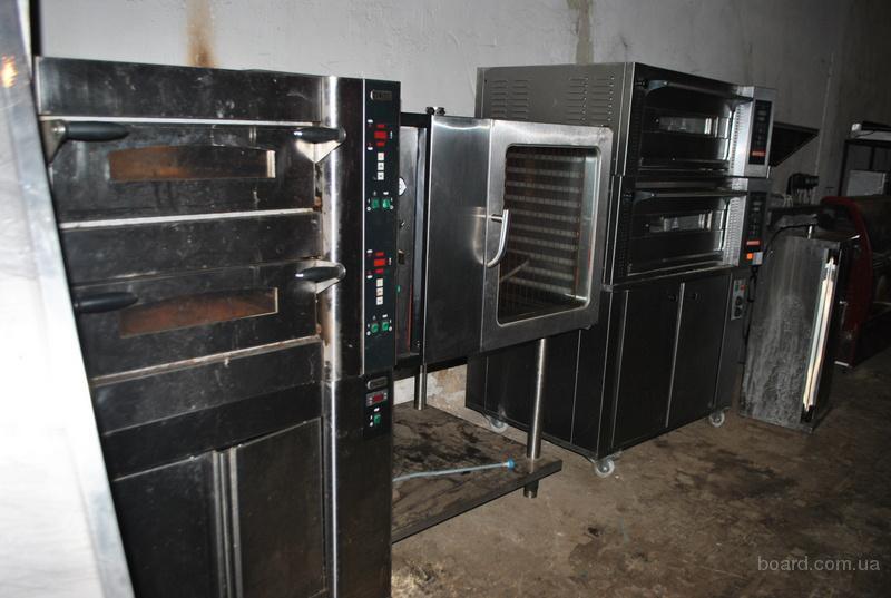 Продам бу подовые и конвекционные печи, расстоечные шкафы
