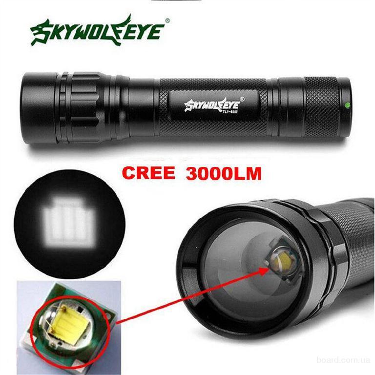 Фонарь Cree XP-E 3W Sky Wolf Eye TLY-6501