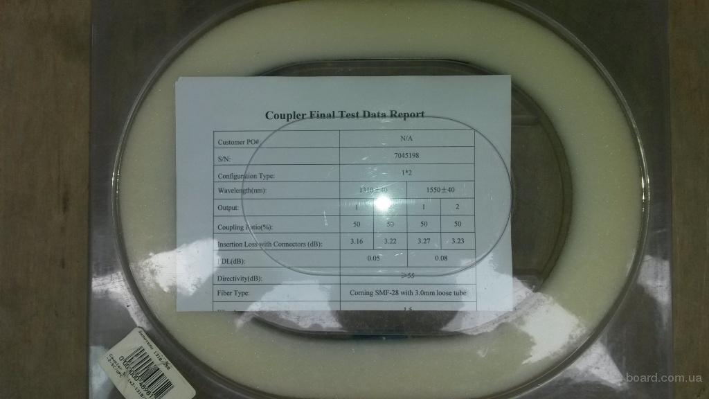 Делитель оптический PLC-1х2-split-SC/UPC