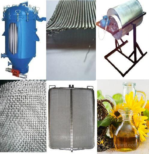 Сетка нержавейка для фильтров растительного масла П48, П56, П72 тканая яч. 0,04-12-30мм - для производства фильтров для растительного масла