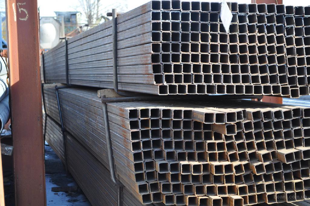 Труби профільні сталеві