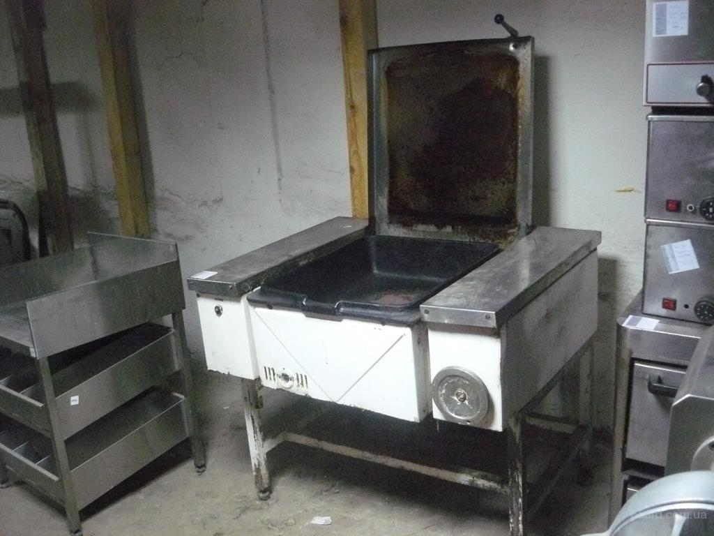 Продам опрокидную сковороду бу