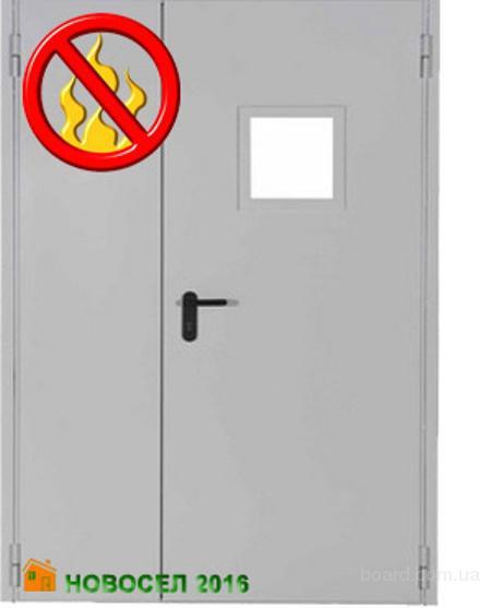 противопожарные стальные двери оптом